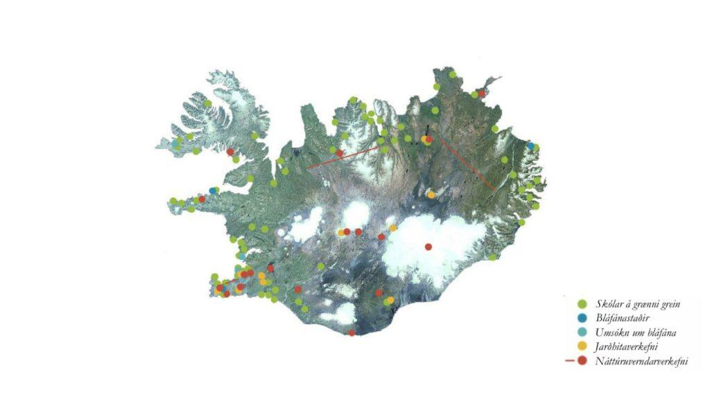 Landvernd vinnur um allt land, segja má að samtökin séu landssamtök á sviði umhverfisverndar, landvernd.is