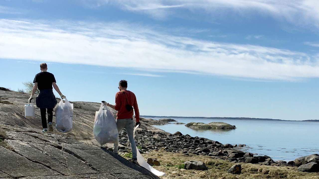 Landvernd skipulagði norræna strandhreinsunardaginn 2017, landvernd.is
