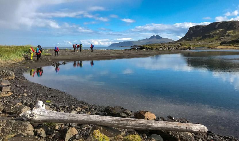 Ófeigsfjörður við minni Eyvindafjarðarár verður senn gerður að iðnaðarsvæði, Mynd: Tómas Guðbjartsson, landvernd.is