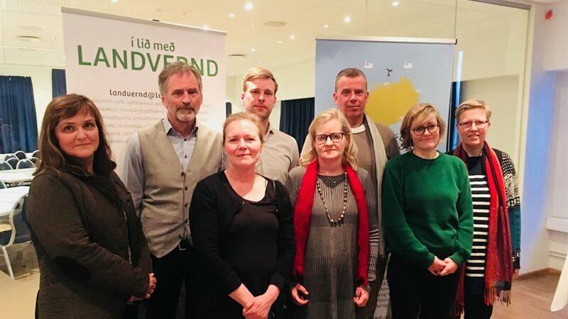 Stjórn Landverndar 2018, landvernd.is