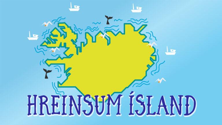 Hreinsum Ísland, hættum notkun á einnota og hreinsum í kringum okkur, landvernd.is