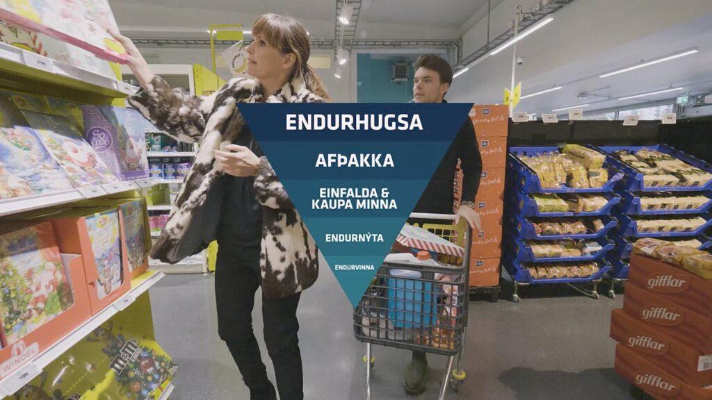 Endurhugsum framtíðina með Landvernd er stuttþáttaröð sem sýnir leiðir til að takast á við þann vanda sem við höfum skapað með lífsstíl okkar og neyslu, landvernd.is