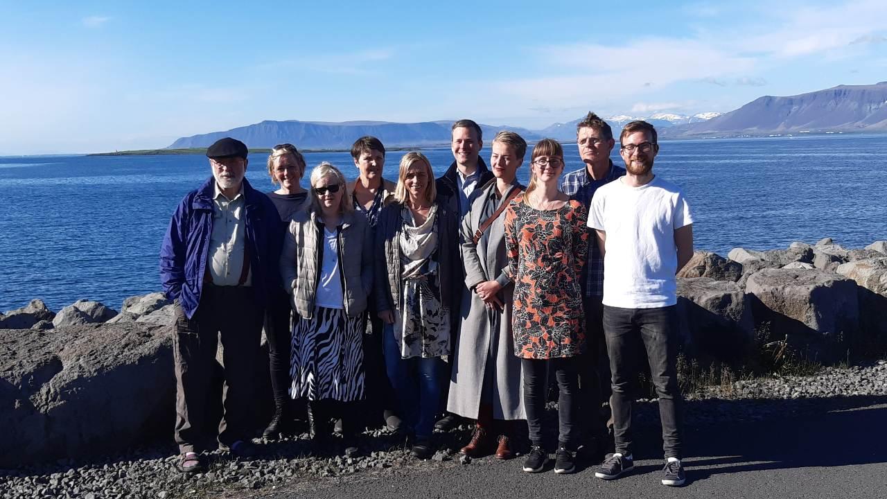 Stjórn Landverndar 2020-2021, stjórnin er kosin lýðræðislega á aðalfundi. Allir félagar hafa atkvæðisrétt, landvernd.is