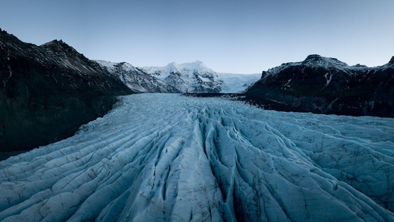 Svínafellsjökull í Vatnajökulsþjóðgarði aðgerðaáætlun í loftslagsmálum hefur bein áhrif, landvernd.is