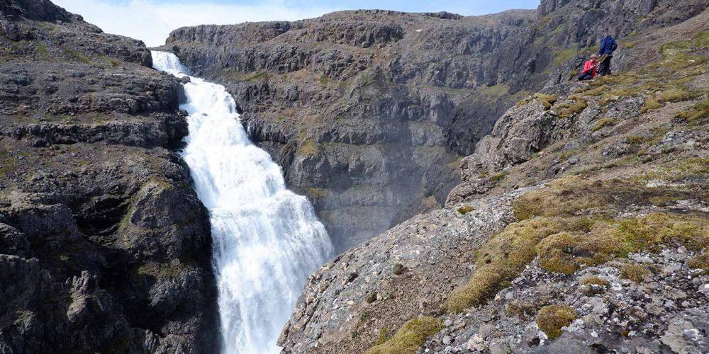 Drynjandi er einn af þeim fossum sem mun þurrkast upp ef af Hvalárvirkjun verður, landvernd.is